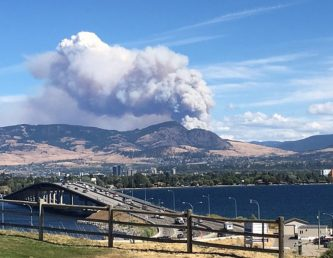 Update on Joe Rich-Kelowna Fire