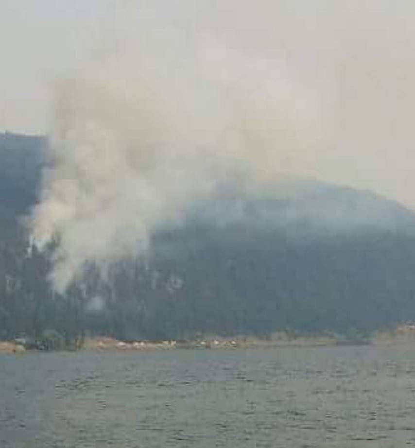 Monte Lake South Fire Held