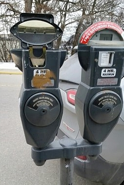 No End To Parking Meter Vandalism