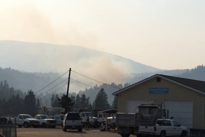 UPDATE: Peachland Fire