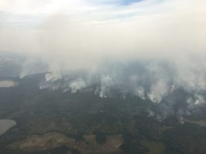 Fire Believed To Be Biggest in BC History