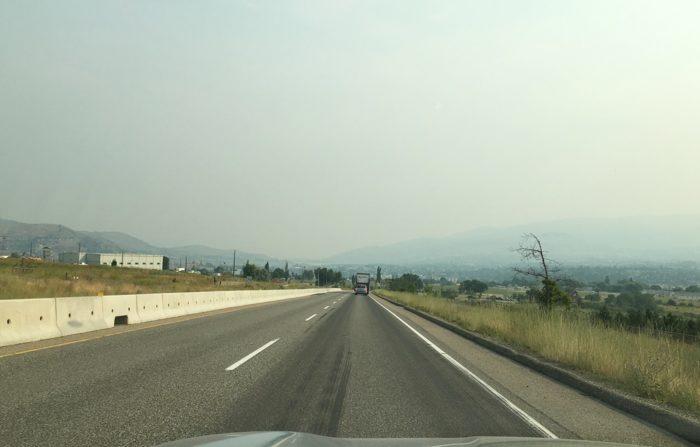 Update: Wind Blows Smoke & Ash Into Okanagan