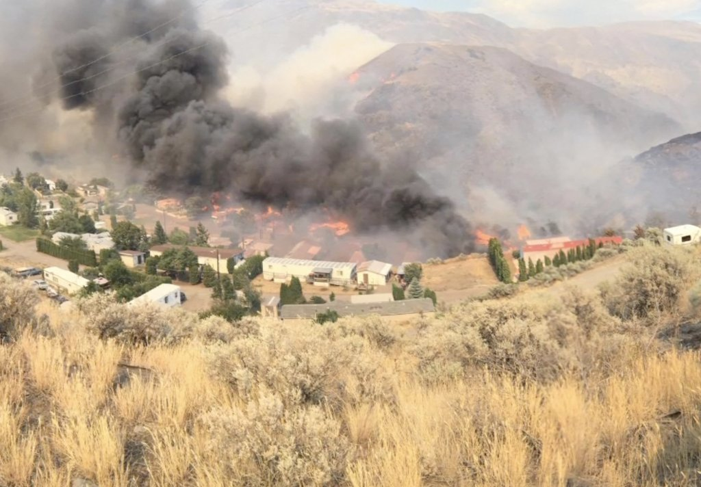 Local Fire Chief Still On the Front Line Of Wildfire Fight