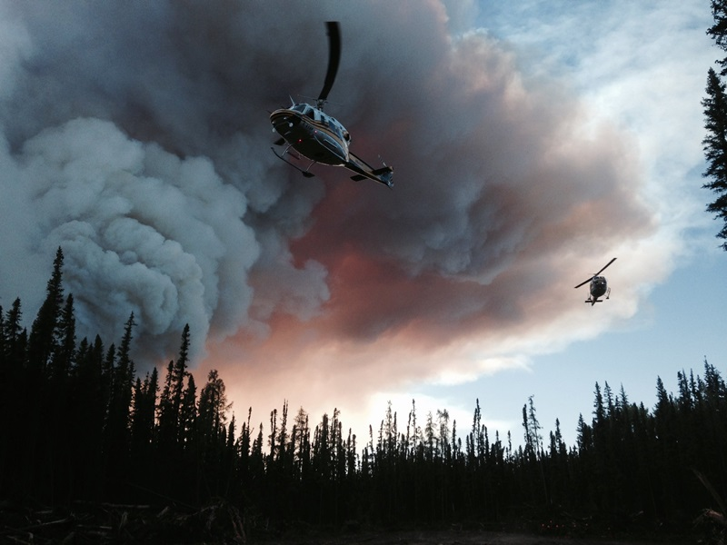 'Challenging' Day Ahead For Wildfires