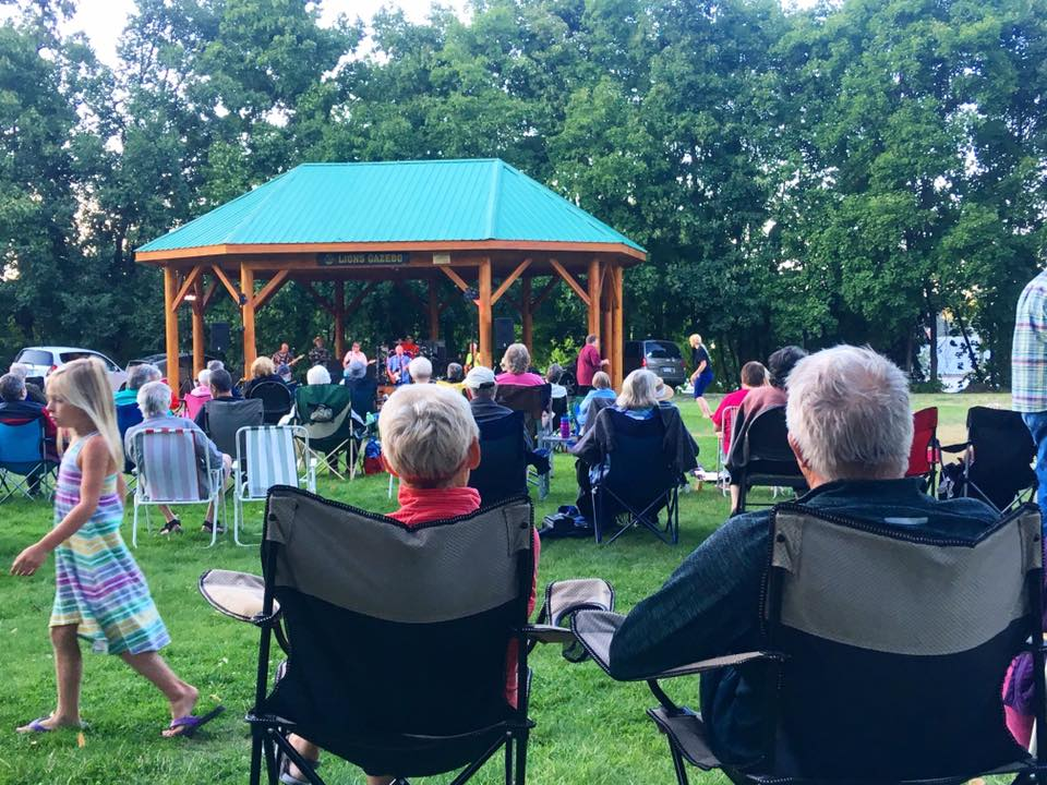 Valley First Music in the Park in Armstrong!