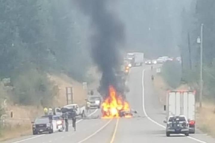 Update: Two Die In Highway Crash; Highway Opens
