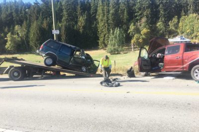 Male Driver in Enderby Accident Could Face Major Charges