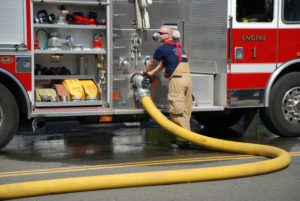 Fire Crews Called Out in Spallumcheen