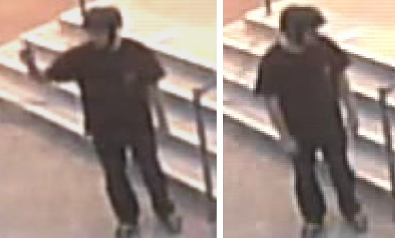 Suspect In Indecent Act Sought