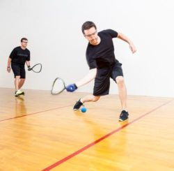 Racquetball Tourney Honours Competitor, Promotor