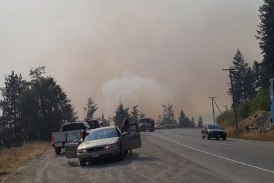 Update: Hwy 1 Reopens In Fire Area