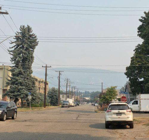 New Smoke Sparks Fire Concerns