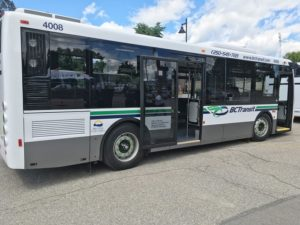 Vernon Transit Survey Underway