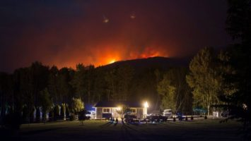 Wildfire State Of Emergency Over