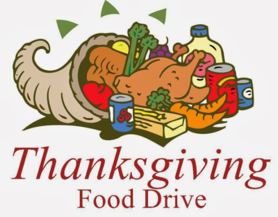 BC Thanksgiving Food Drive Today