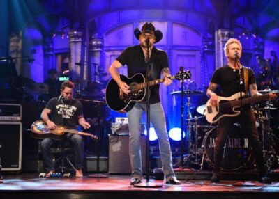Jason Aldean Does Double Tribute on SNL