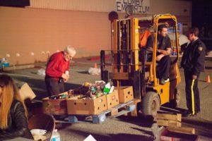 Food Drive in Lavington-Lumby