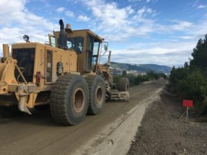 Rail Trail Construction Starts In Coldstream