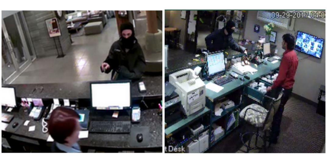 Suspect Sought In Vernon Hotel Robberies