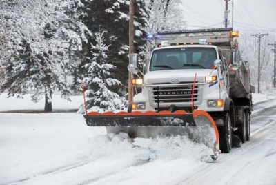 Vernon Road Crews Tackling Snow And Ice