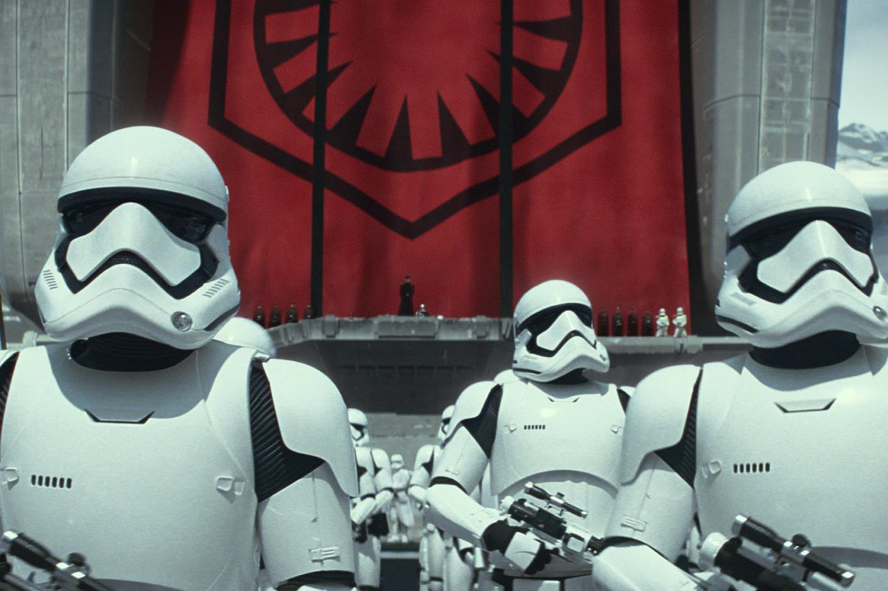 Some VERY famous chaps are going to be Stormtroopers!