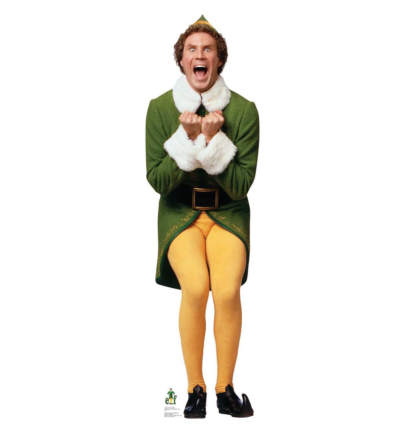 Wanna see a 10-foot Buddy the Elf sculpture?  Made out of Rice Krispie treats??  Sure ya do.