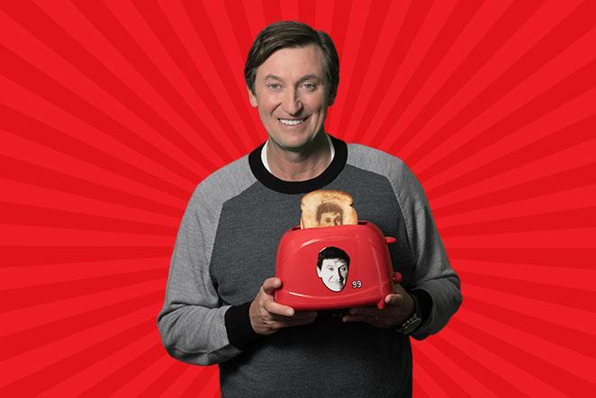Gretzky on Toast