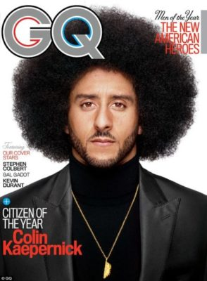 Kaepernick Cracks GQ's Line-up