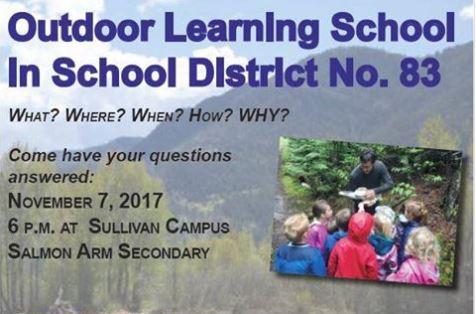 Outdoor Learning In North Okanagan-Shuswap