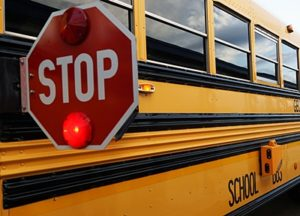 One Injured In School Bus Collision