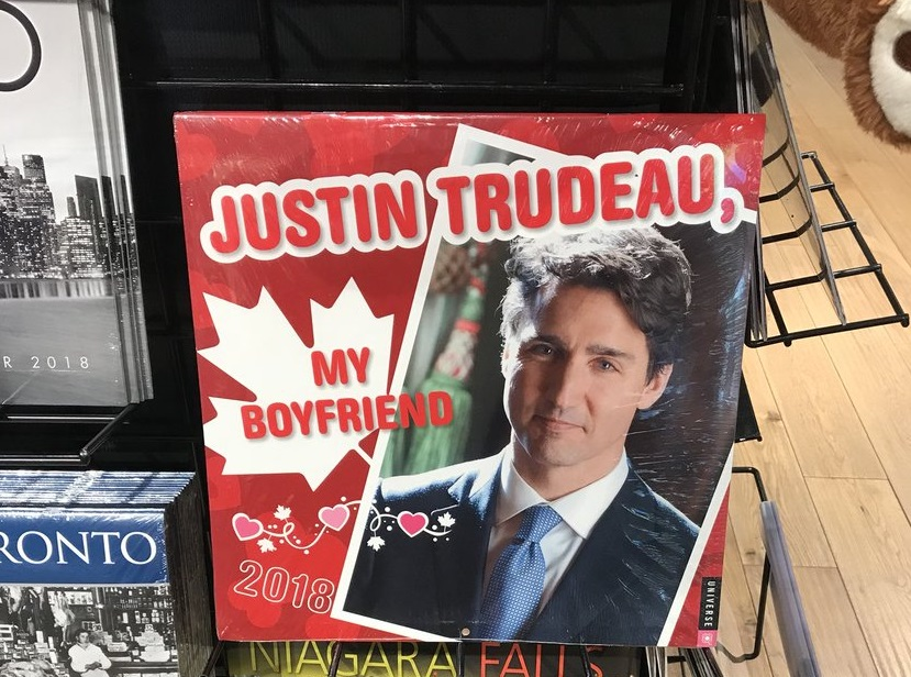 The MOST Canadian Calendar For 2018