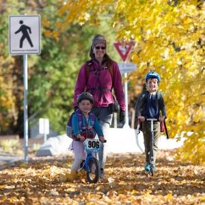Walk/Bike To School Proves Popular