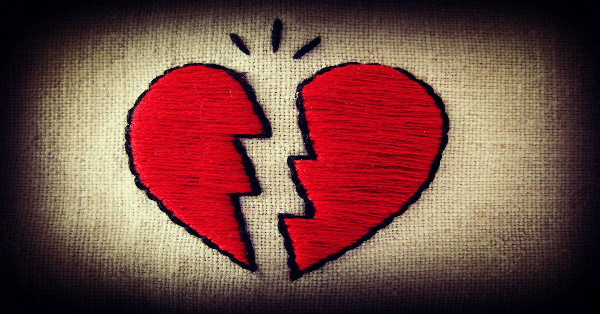 Broken heart?  Might be more harmful than you think.