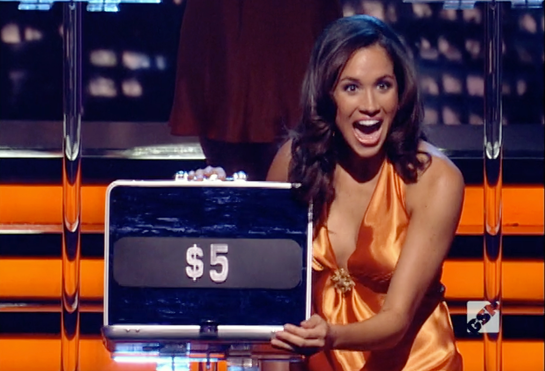 Meghan Markle was a 'Deal Or No Deal' briefcase model...and we have the footage!