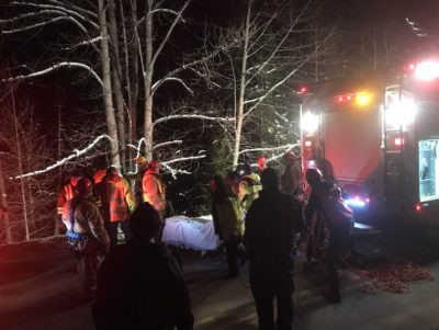 Vernon Search and Rescue Involved in Steep Terrain Rescue