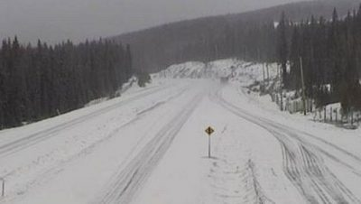 Coquihalla Expecting Snow...and Lots of It.