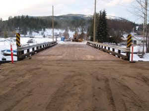 Bridge Back In Service; MLA Blames Government