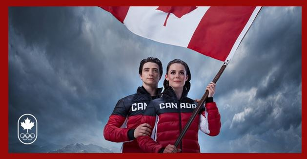 Virtue & Moir To Carry Flag At Olympics