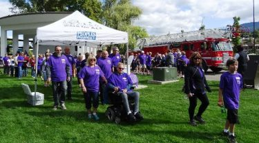 Vernon WALK For ALS In Jeopardy
