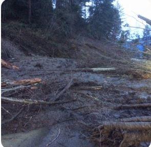 All Clear On Eastside Road After Mudslide