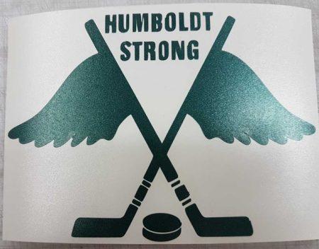 Update: Vernon Shop Produces 'Humboldt Strong' Decals