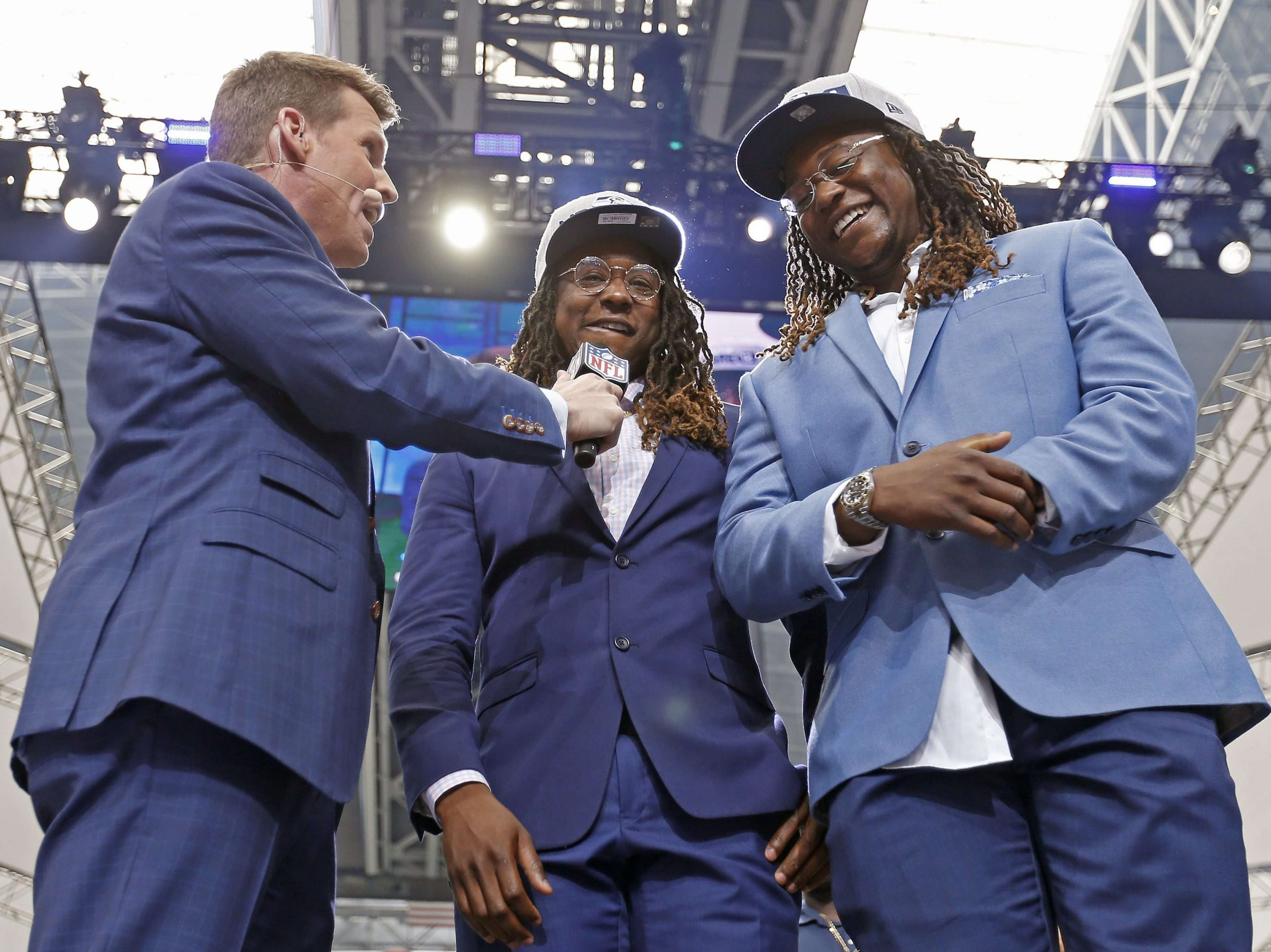 The NFL's feel-good draft story is emotional x2