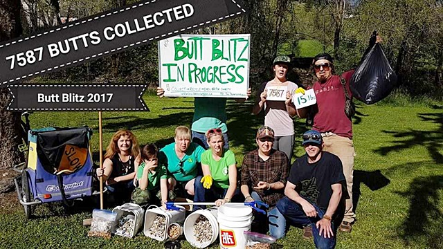 Vernon Clean-Up Targets Butts