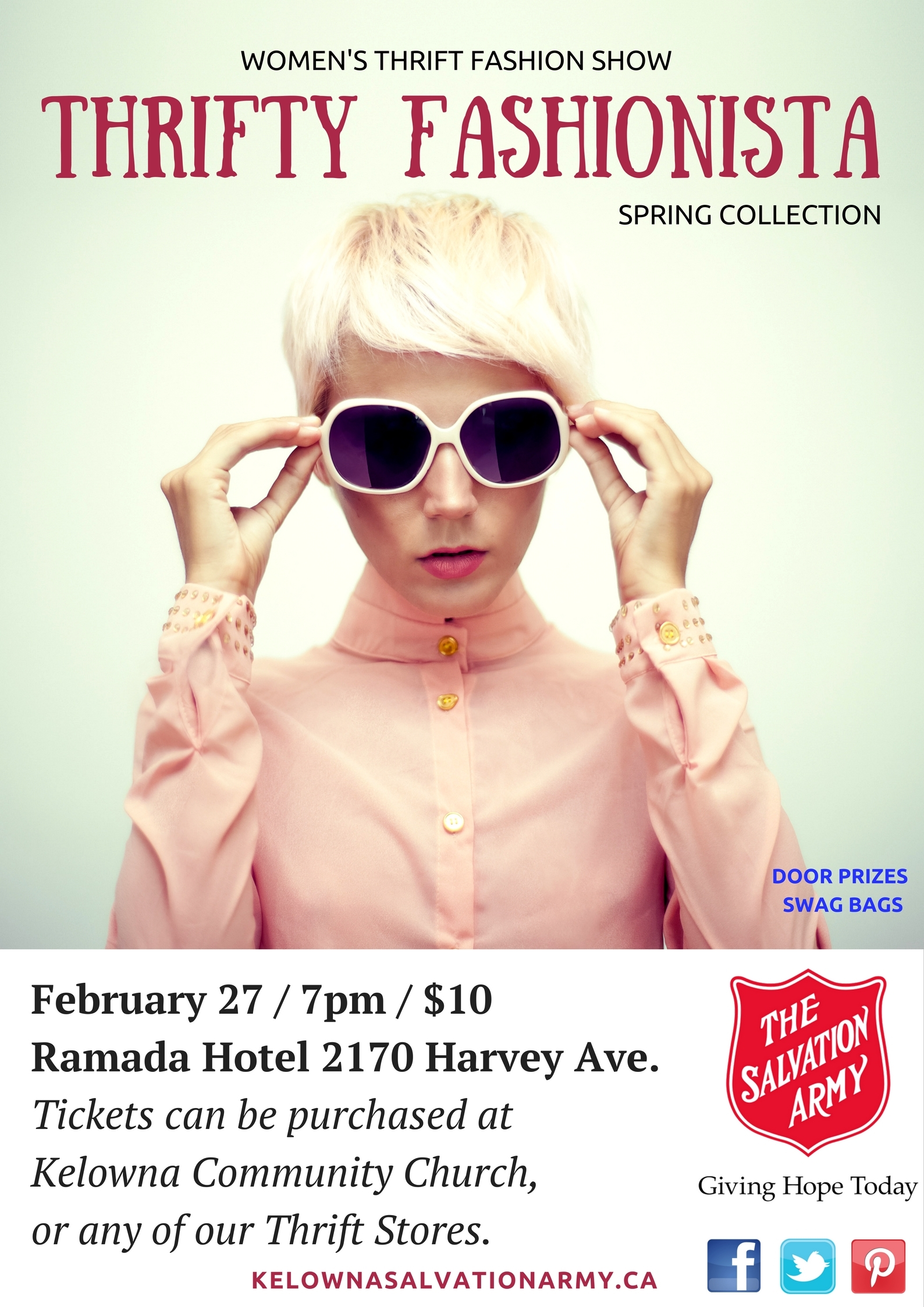 Salvation Army Fashion Show