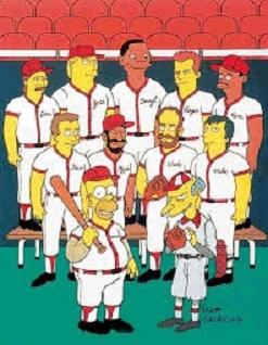 """""""Woo hoo!"""" Homer in 'The Hall'!"""