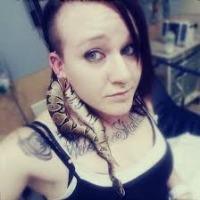 Pet Python get stuck in ear