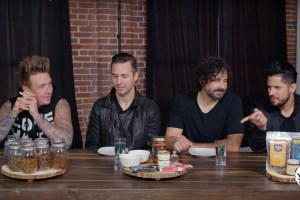 Watch Papa Roach eat bugs