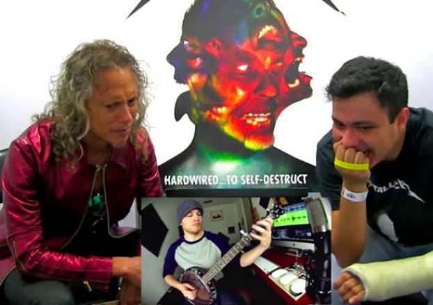 Kirk Hammett reviews Metallica covers