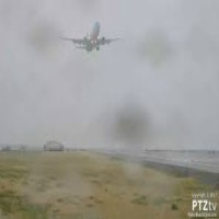 """Jet """"missed approach"""""""
