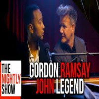 John Legend Sings Gordon Ramsay Insults